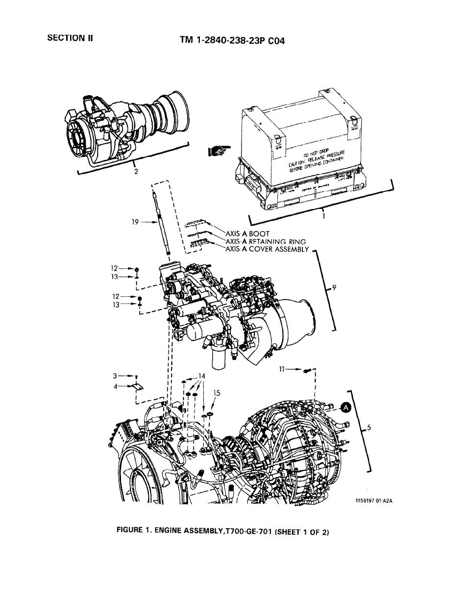 engine diagram 5 0 engine 1989 town car t700 engine diagram figure 1. engine assembly, t700-ge-701 (sheet 1 of 2)