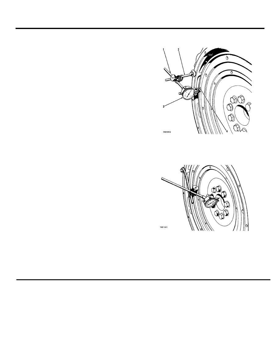 max flywheel runout