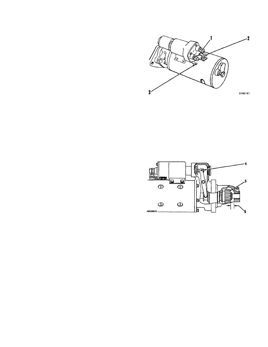 Pinion Clearance Adjustment