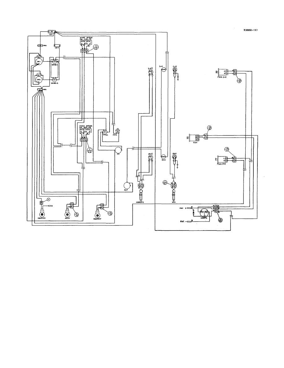 3500 Engine Wiring Diagram Ref 5n8944 Later Systems With 4w2188 A Pressure Switch Assembly