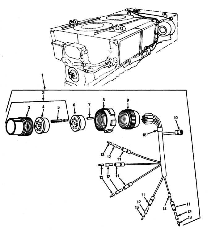 Figure 73 Transmission Wiring Harness Connectors And Terminals