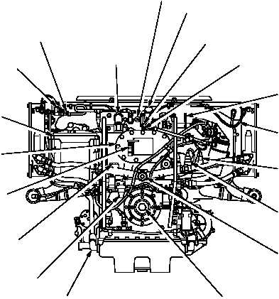 Figure 1 2 Avds 1790 8cr Engine Assembly Front View
